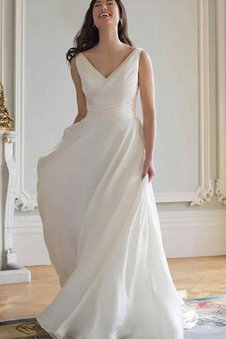 2bfee5e4262 Robe de mariée vintage sobre de traîne courte maillot jusqu au sol
