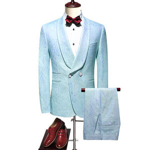 Costume ensemble party costume pour mariage hommes mariage costumes double boutonnage
