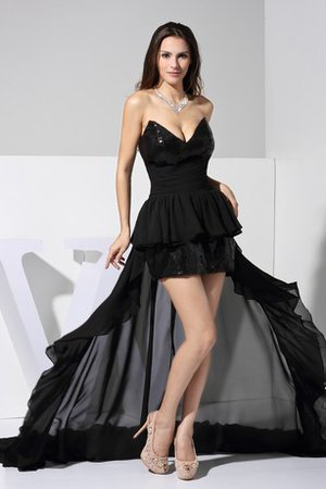 Robe de cocktail brillant courte ruché de bustier