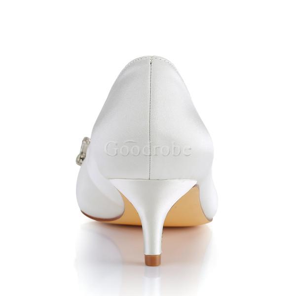 4d9cf22b615d8a Chaussures pour femme moderne taille réelle du talon 1.97 pouce (5cm) hiver  ...