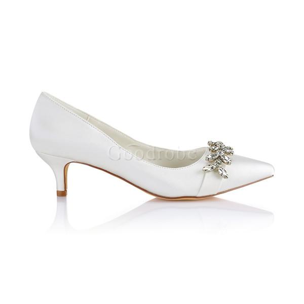 13db76ab0e0c19 Chaussures pour femme moderne taille réelle du talon 1.97 pouce (5cm) hiver  - GoodRobe